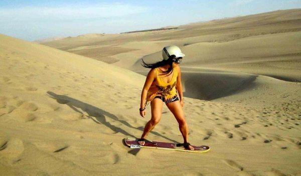 Vacaciones en las dunas de Ica