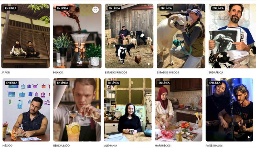 Coronavirus: viajes virtuales con Airbnb y sus experiencias online