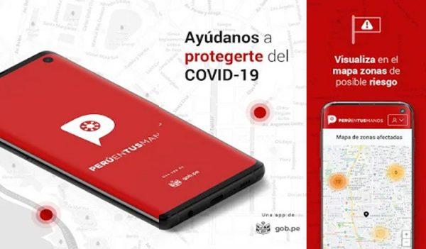 app PerúEnTusManos – Detén el avance del COVID19