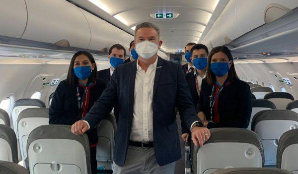 JetSMART presenta nuevos protocolos de higiene y bioseguridad que se implementarán a bordo de sus vuelos