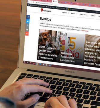 Agenda online de Turismo en Perú