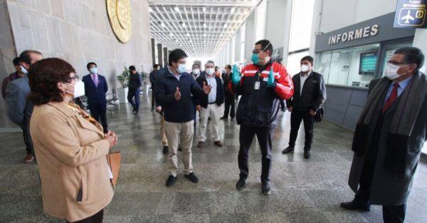 Reactivación: aeropuerto de Cusco tiene listo protocolos de salud para recibir a pasajeros