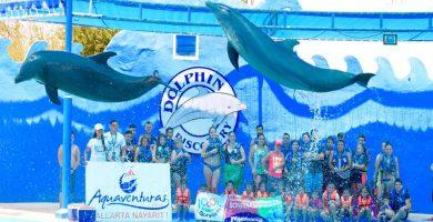 Aquaventuras con delfines en Puerto Vallarta