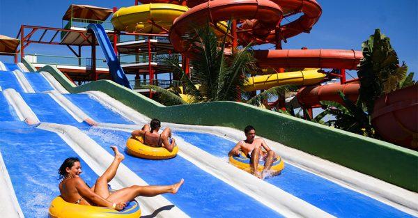 Aquaventuras, Toboganes en Nuevo Vallarta