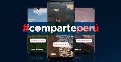 Comparte Perú, Motorola, fotos viajeras