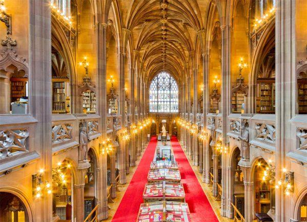 Tour por la John Rylands Library de Manchester