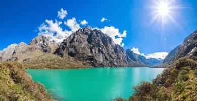 Viaja a las Lagunas del Parque Nacional Huascarán