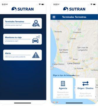 Descarga el APP Viaje Seguro de la SUTRAN