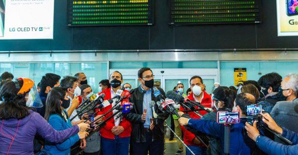 Vuelos internacionales en el Aeropuerto Internacional Jorge Chávez