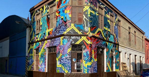 Arte Urbano en el Monumental Callao