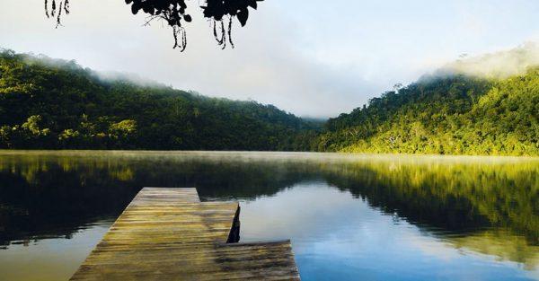Viajar a la Laguna Azul en Tarapoto