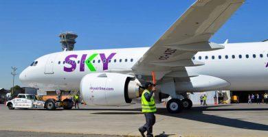 Sky Airline reinicia vuelos entre Cusco y Arequipa este mes