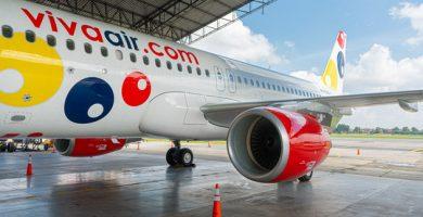 Vuelos Internacionales de Viva Air Perú