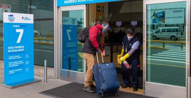 Protocolos en el Aeropuerto Internacional Jorge Chávez de Lima