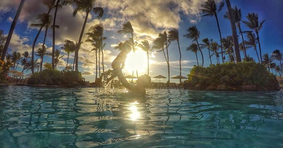 Atardeceres hawaianos en Grand Wailea, un resort de Waldorf Astoria - Maui, Hawaii