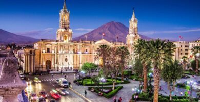 Viajar por Arequipa